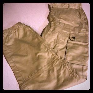 Women's khaki pants-never worn!